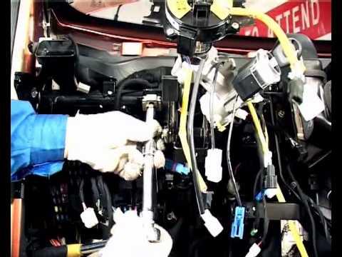 Снятие и установка рулевой колонки Чери А13/Форза