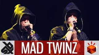 getlinkyoutube.com-MAD TWINZ  |  Grand Beatbox TAG TEAM Battle 2016  |  Elimination