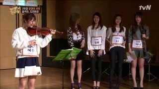 getlinkyoutube.com-(ENG SUB) EXID Hyerin & Hani Audition @ Always Cantare EP01 141205