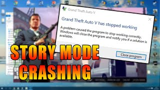 GTA V PC Story Mode Crashing Fix 2017