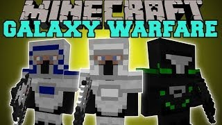 getlinkyoutube.com-Minecraft: GALAXY WARFARE (TONS OF GUNS, ARMOR, AND MOBS!) Mod Showcase