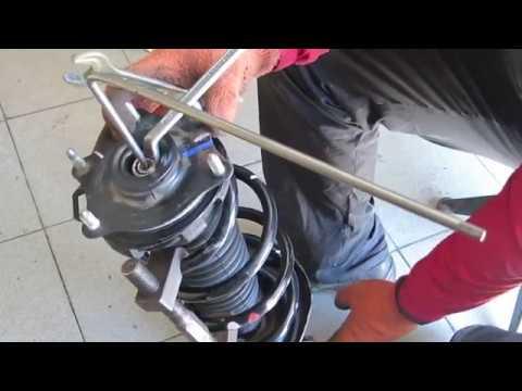 Honda crv замена штатного пыльника амортизатора на собственный аналог