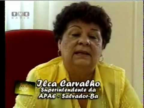 Ações realizadas pela Apae Salvador - Matéria veiculada na TVE - janeiro 2007
