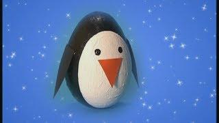 getlinkyoutube.com-Mister Maker Christmas Make - How to Make a Wobbly Penguin