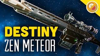 getlinkyoutube.com-DESTINY Zen Meteor NEW Exotic Sniper Rifle Review & Gameplay (April Update Exotic)