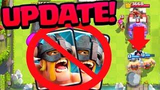 getlinkyoutube.com-Clash Royale UPDATE! Elite Barbarians NERFED!