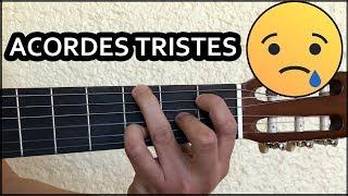 Acordes mas tristes en guitarra