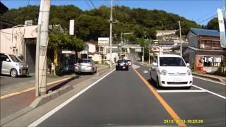 getlinkyoutube.com-山梨 キチガイの危険運転 ドライブレコーダー