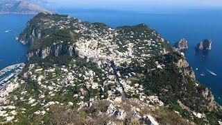 L'isola di Capri nel Video in 4K