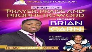 getlinkyoutube.com-Prophet Carn @prophetcarn Dimensions Of Sanctification I-8-16 Word Of Restoration Rosharon, TX