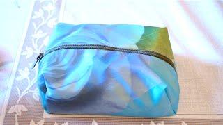 getlinkyoutube.com-DİY cosmetics bag / Makyaj çantası düzəlt / Kendi Makyaj çantanı yap kendin yap