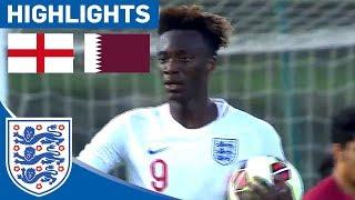 England U21 4-0 Qatar | Rampant England Through To Toulon Semis | Highlights