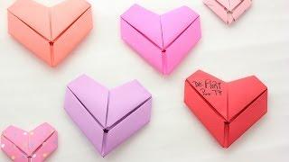 getlinkyoutube.com-Cómo doblar tus cartas en forma de corazón - floritere - 2014