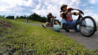getlinkyoutube.com-Go-Pro: Tricked-Out DIY Trike Drifting