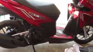 getlinkyoutube.com-Auto PGM-Fi honda click 125i | honda click 125i 2015-2016 red colors