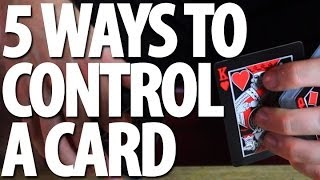 getlinkyoutube.com-5 Ways to Control a Card - Tutorial