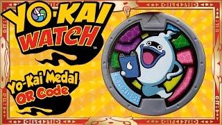 getlinkyoutube.com-Yo-Kai Watch - Yo-Kai Medal QR Codes | U.S. Whisper Medal! [Tips & Tricks]