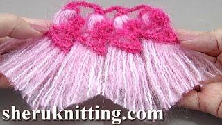 getlinkyoutube.com-Tassels Worked On Hairpin Loom Tutorial 35 Crochet Tassels