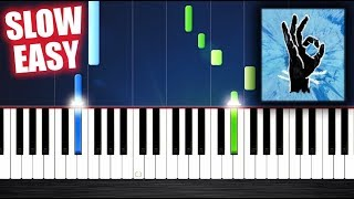 Ed Sheeran - Perfect - SLOW EASY Piano Tutorial by PlutaX