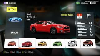 getlinkyoutube.com-Forza Horizon 2 (XOne) - All Cars from Autoshow (25.09.2014)