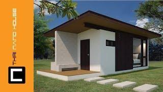 วีดีโอ แสดงการก่อสร้างบ้าน เคบิน นาโน 01 บ้านอิฐบล๊อค นาโน