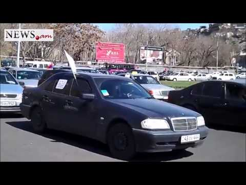 Car rally in Armenia - Mar 20, 2014