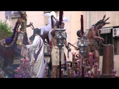 Semana Santa Ciudad Real 2014 Miércoles Santo La Flagelación parte1
