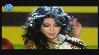 getlinkyoutube.com-Haifa Wehbe - Badde Shouf [Live @ Elite Model Look Lebanon-2011]