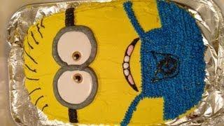 getlinkyoutube.com-Despicable Me 2 Minion Cake
