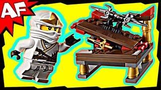 getlinkyoutube.com-ZANE & HIDDEN SWORD 30086 Lego Ninjago Stop Motion Set Review