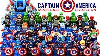 getlinkyoutube.com-LEGO Captain America™ 2016 Marvel Super Heroes Minifigure Complete Collection