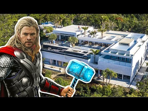 The Homes of Your Favorite Superhero Actors
