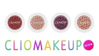 getlinkyoutube.com-Recensione Ombretti ColourPop Eyeshadow Review