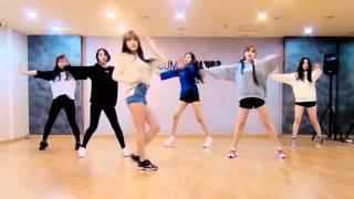 getlinkyoutube.com-GFRIEND 'Rough' mirrored Dance Practice