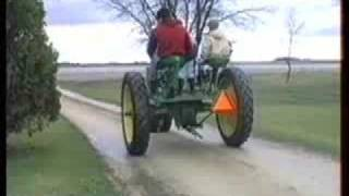 getlinkyoutube.com-Pedal-Powered Tractor
