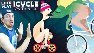 getlinkyoutube.com-Lets Play ICYCLE: ON THIN ICE! Crazy Naked Guy on a Bike! + Fish Have Butts w/ Cheeks? (Part 1)