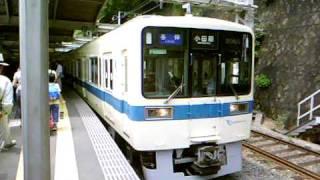 getlinkyoutube.com-[小田急]8000形 各停 小田原行き 発車!