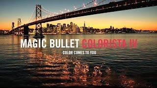 Magic Bullet Colorista IV Hero