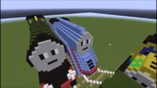 getlinkyoutube.com-Thomas & Friends minecraft shooting star gordon