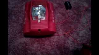 How to wire a horn strobe to a Pull Station without a control panel