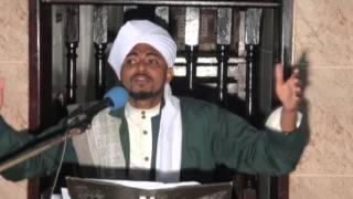 """Al-Hatimy Amrekebisha Khatibu wa Vetenary Kwa Kusema """"Mtume Muhammad S.A.W Hanufaishi wala Hadhuru""""."""