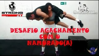 getlinkyoutube.com-DESAFIO DO AGACHAMENTO - ELA LEVANTA!
