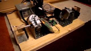 getlinkyoutube.com-x-Sim DIY-Motion-Simulator, erster Funktionstest in rFactor