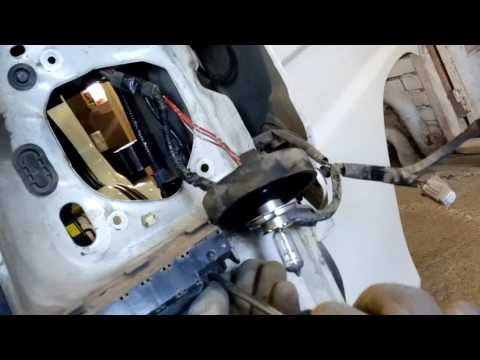Субару самбар снятие кранштейнов переднего бампера
