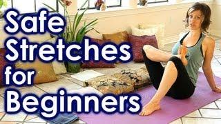 getlinkyoutube.com-How To Stretch for Beginners, Safe Stretches for Full Body Yoga, Back & Leg Pain Relief, Sciatica