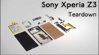 Sony Xperia Z3 Teardown