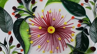 getlinkyoutube.com-DIY Room Decor with Awesome Paper Quilling Art : DIY Crafts for Home Decoration With Quilling