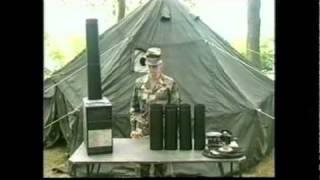 getlinkyoutube.com-Off Grid Heat Source. Army Surplus Hunter SHA (Space Heater Arctic)