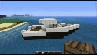 getlinkyoutube.com-Minecraft Tutorial - FishingBoat