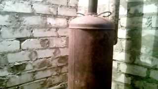 """getlinkyoutube.com-Чудо-печка длительного горения типа """"бубафоня"""""""